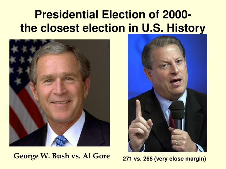 Presidential Election of 2000-