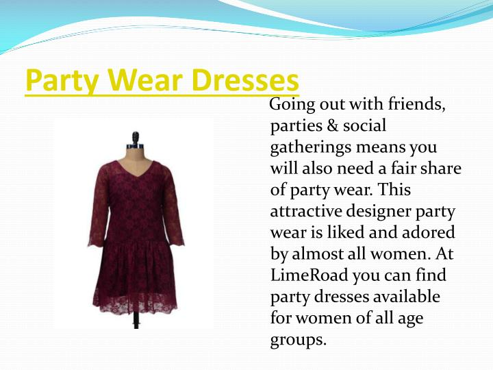 Party Wear Dresses