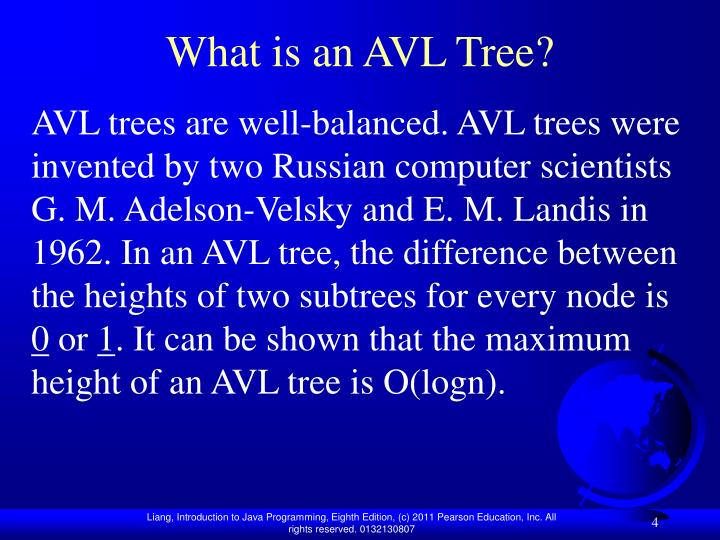 What is an AVL Tree?