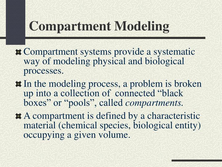 Compartment Modeling