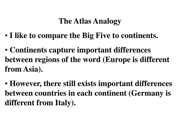 The Atlas Analogy