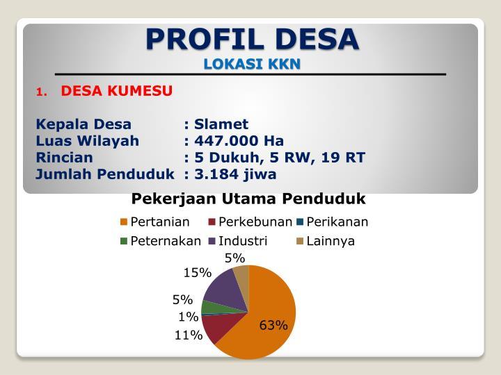 PROFIL DESA