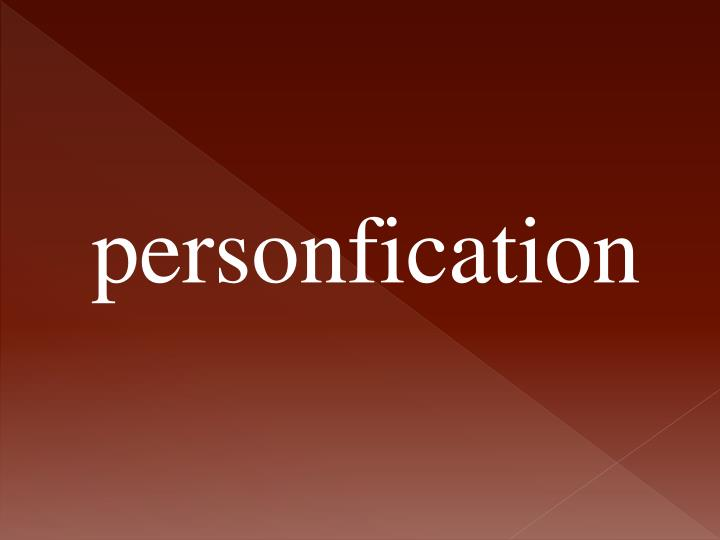 personfication