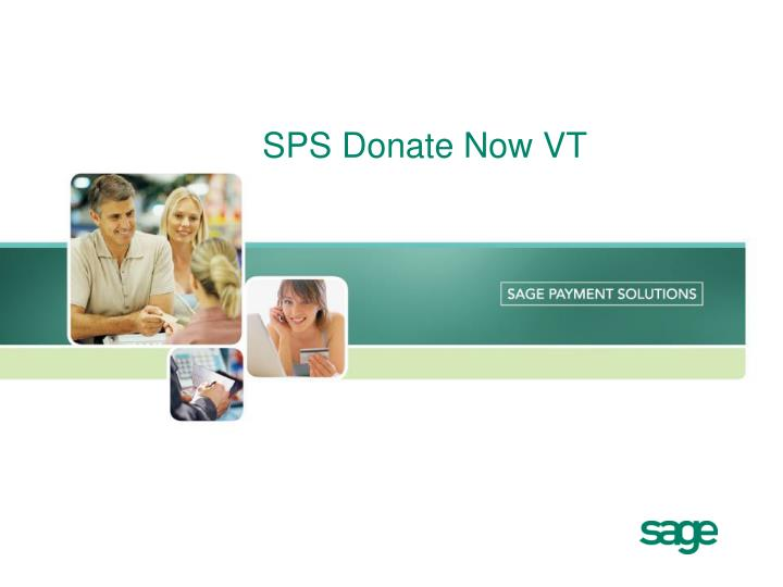 Sps donate now vt