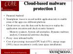 cloud based malware protection 1