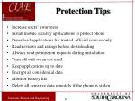 protection tips