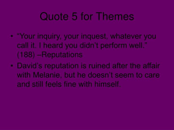Quote 5 for Themes