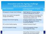 innovation and the ageing challenge built in technological bias