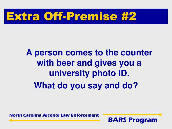 Extra Off-Premise #2