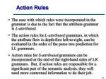 action rules