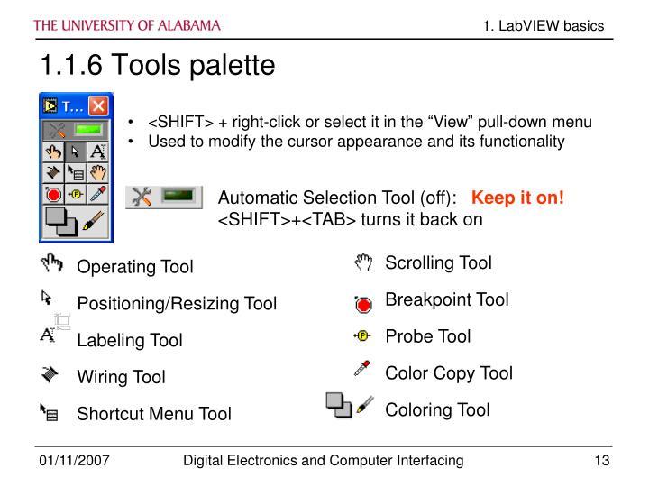 Scrolling Tool