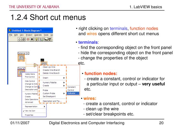 1. LabVIEW basics