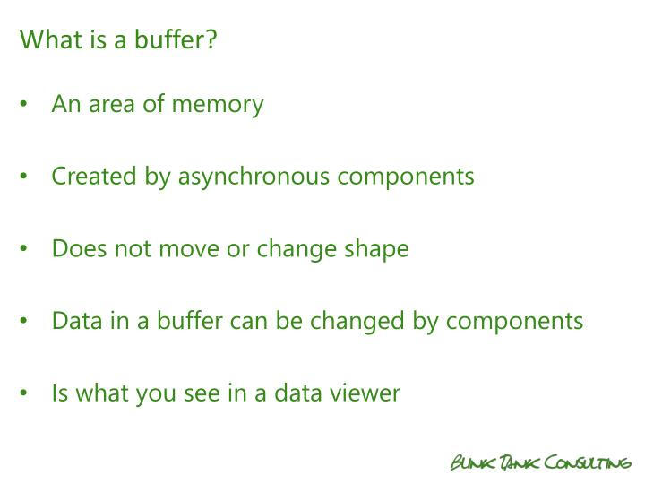 What is a buffer?
