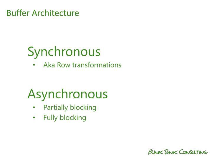 Buffer Architecture