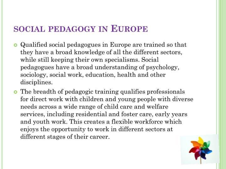 social pedagogy in Europe