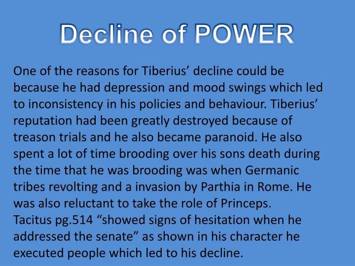 Decline of POWER
