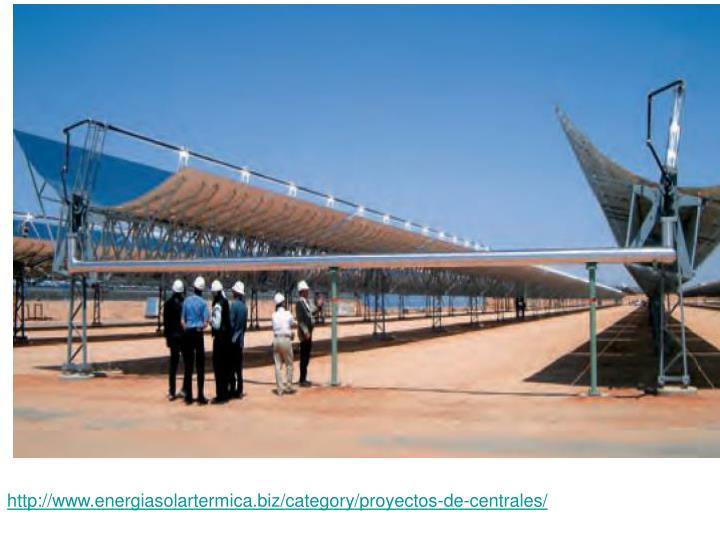 http://www.energiasolartermica.biz/category/proyectos-de-centrales/