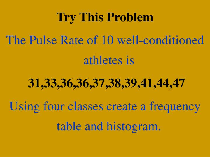 Try This Problem
