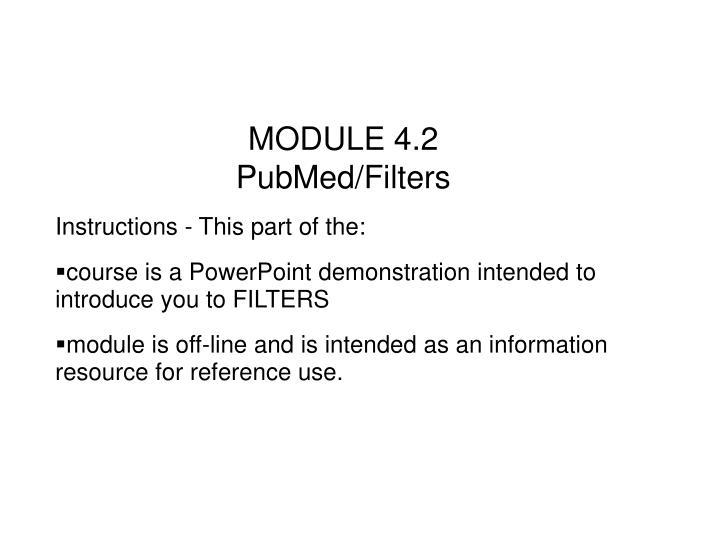 MODULE 4.2