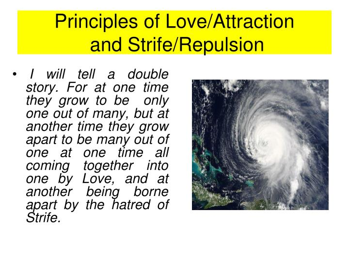 Principles of Love/Attraction