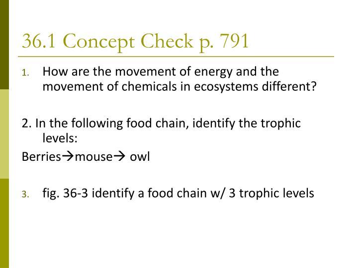 36.1 Concept Check p. 791