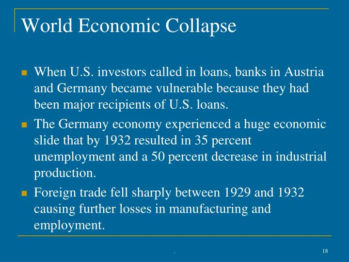 World Economic Collapse