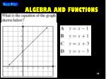 algebra and functions2