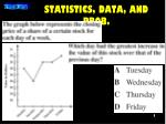 statistics data and prob1