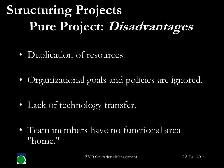 Structuring Projects