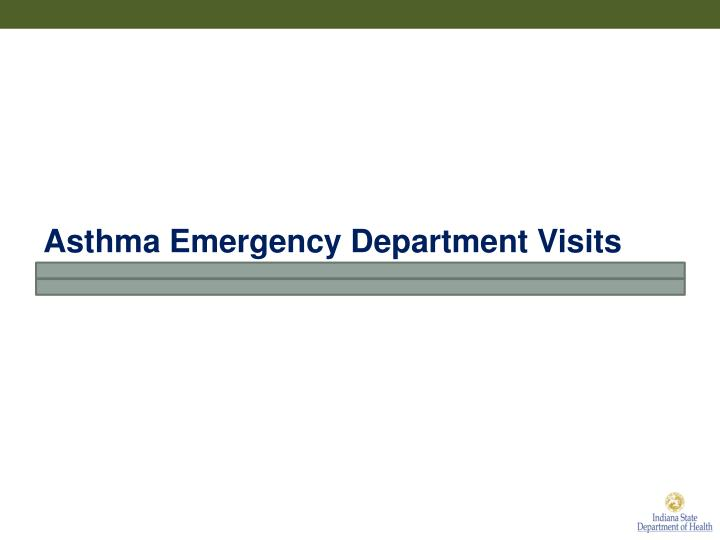 Asthma Emergency Department Visits