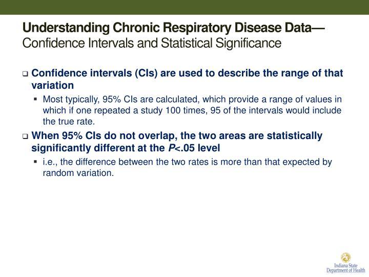 Understanding Chronic Respiratory Disease Data—