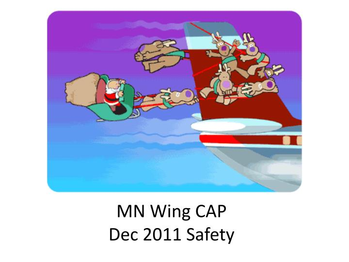 Mn wing cap dec 2011 safety
