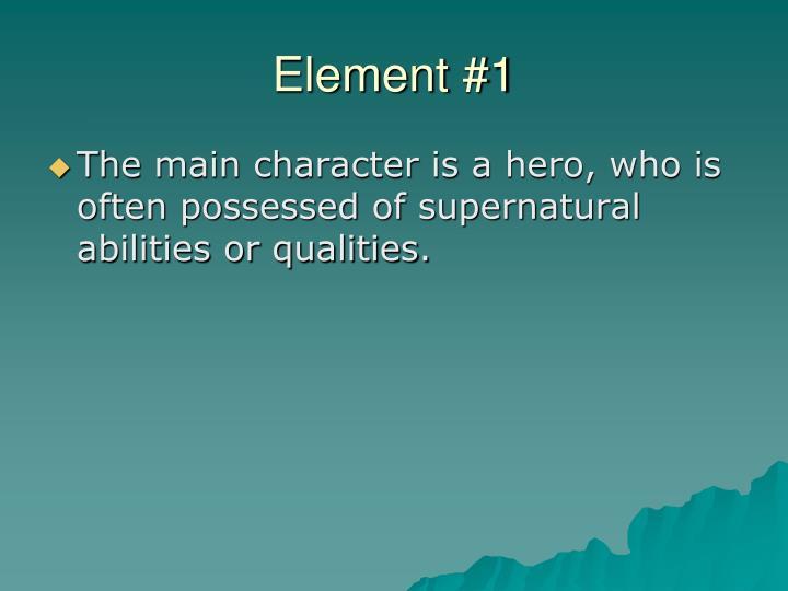 Element #1