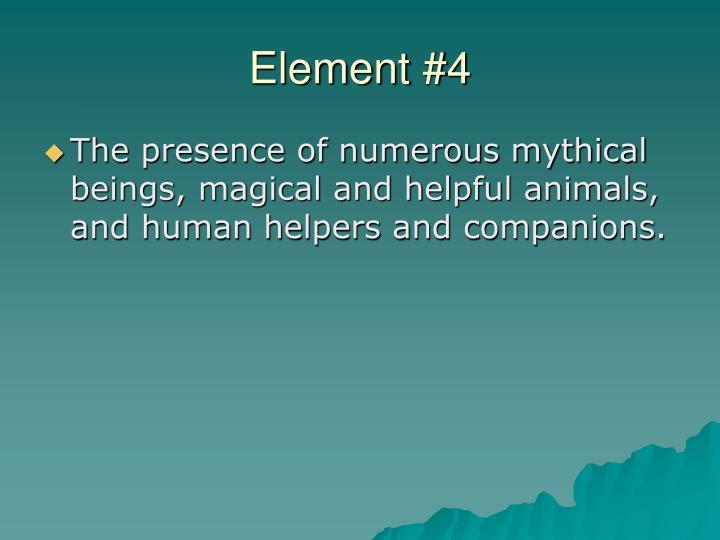 Element #4