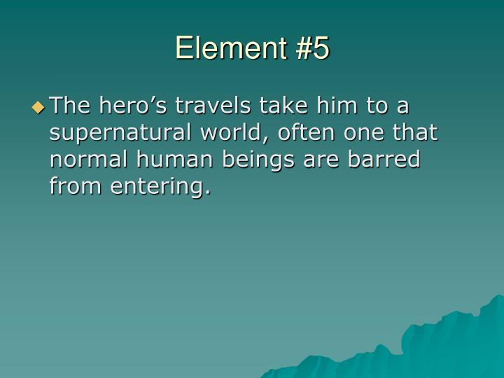 Element #5