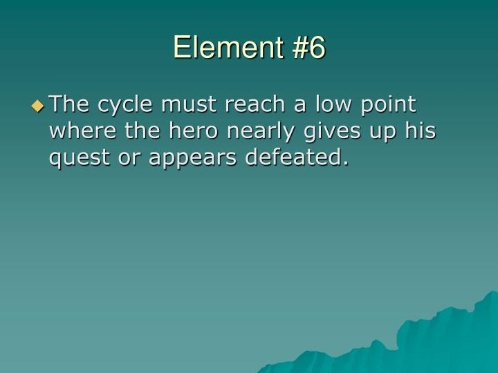 Element #6