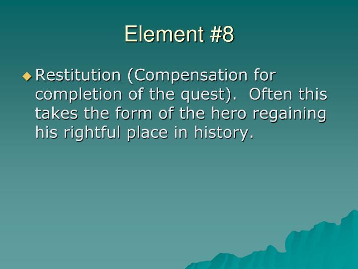Element #8