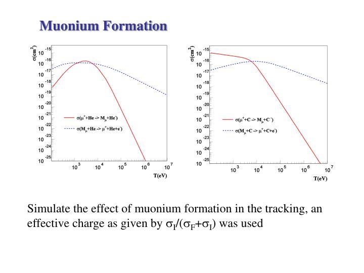 Muonium Formation