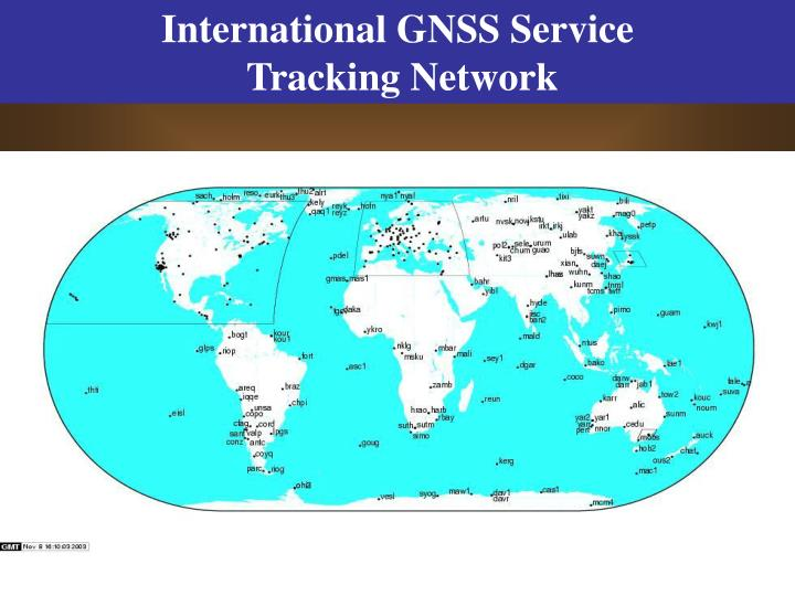 International GNSS Service