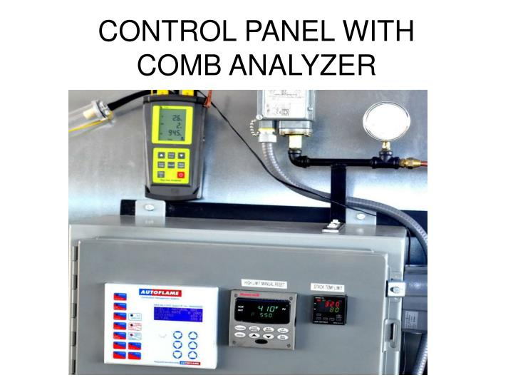 CONTROL PANEL WITH