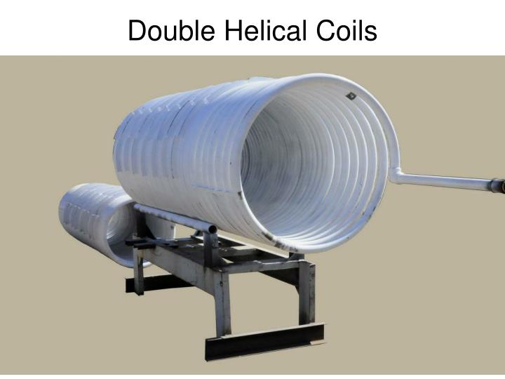 Double Helical Coils