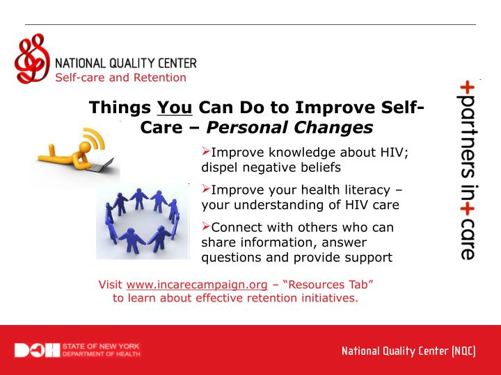 Self-care and Retention
