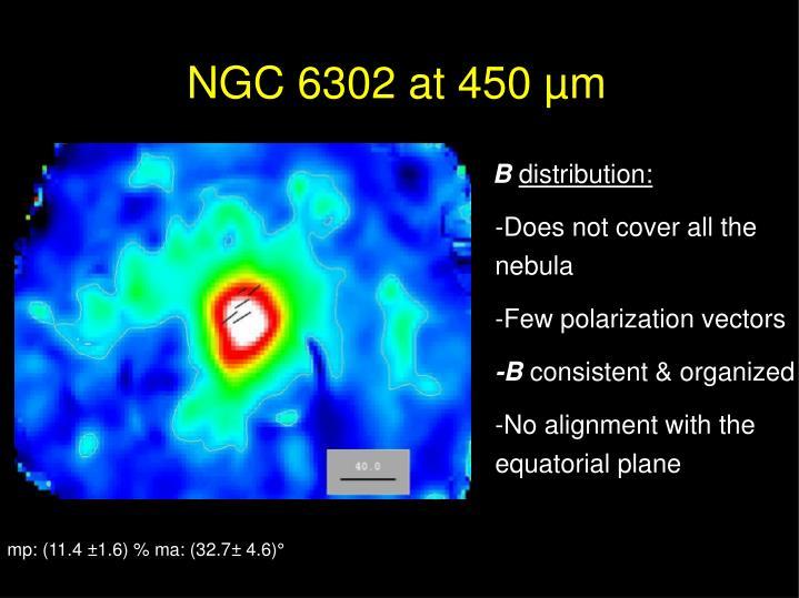 NGC 6302 at 450