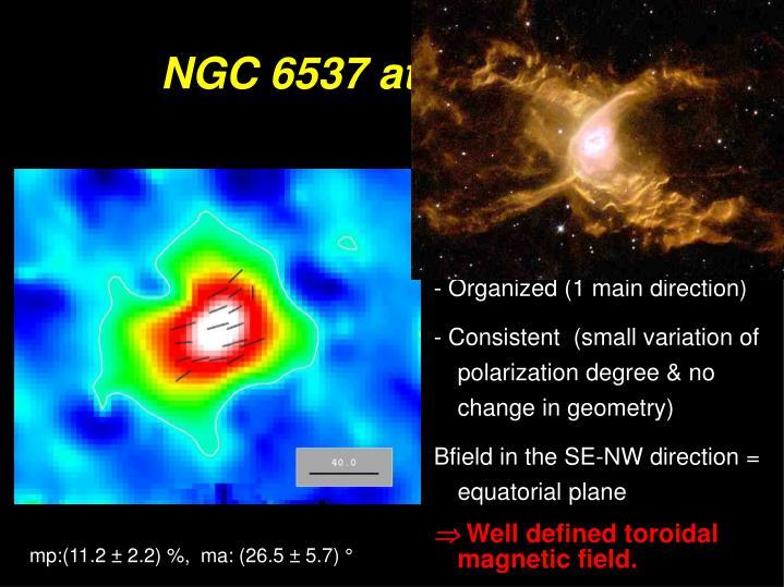 NGC 6537 at 850