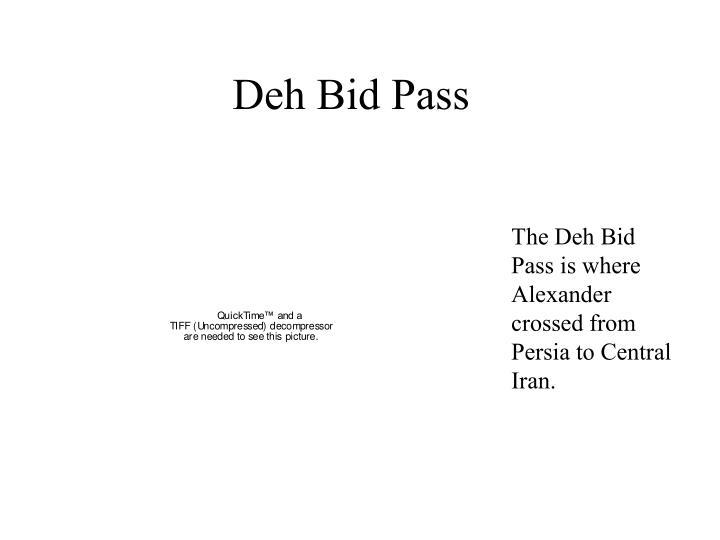 Deh Bid Pass