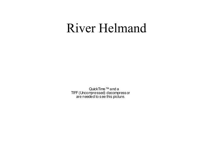 River Helmand