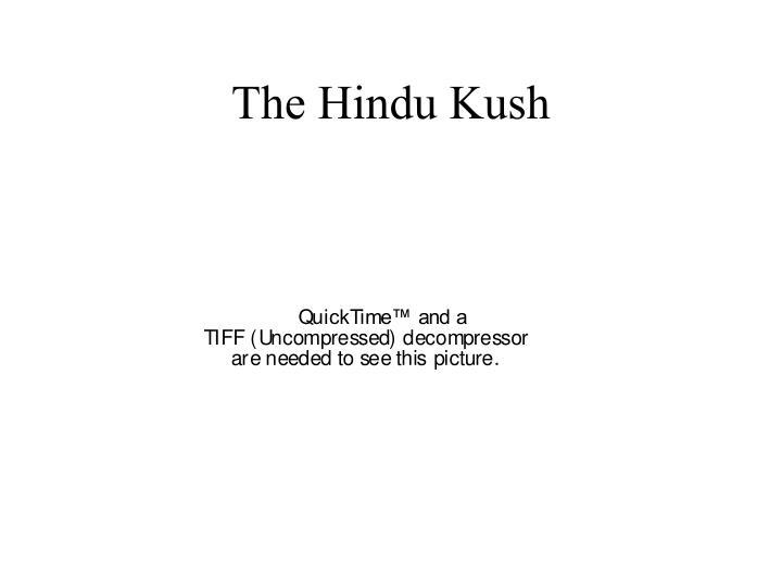 The Hindu Kush
