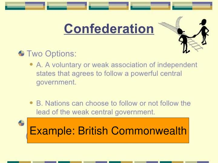 Example: British Commonwealth