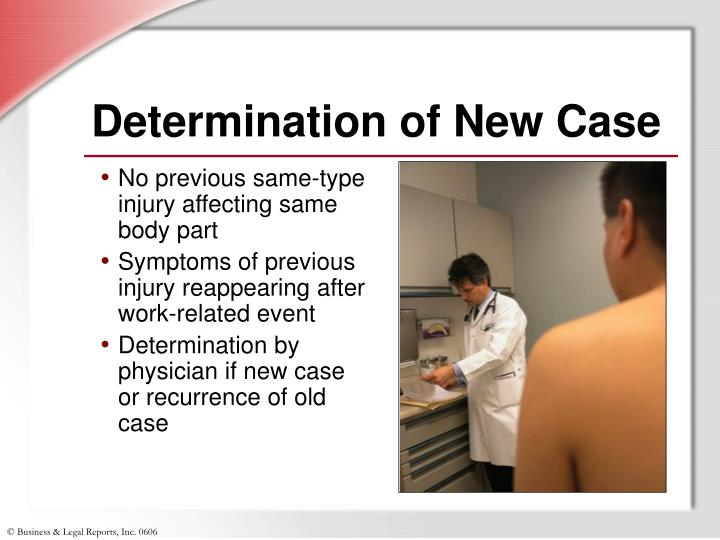 Determination of New Case