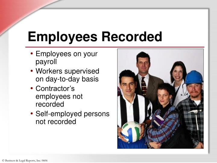 Employees Recorded